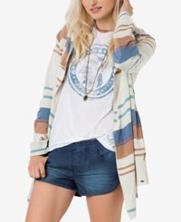 O'neill Juniors' Leighton Striped Cardigan Multi Color