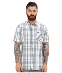 Rip Curl Floyd Long Sleeve Flannel White Men's Clothing