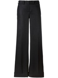 Dodo Bar Or Flared Trousers Black