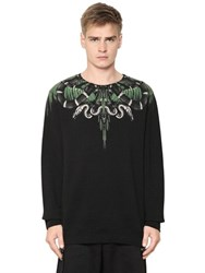 Marcelo Burlon Moa Printed Cotton Sweatshirt