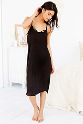 Out From Under Billie Jean Racerback Tank Dress Black