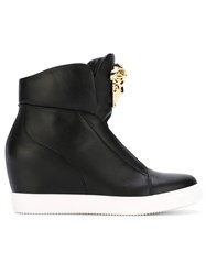 Versace Medusa Wedge Sneakers Black