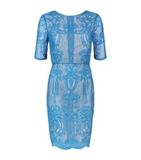 Reiss Zola Lace Dress Female Blue