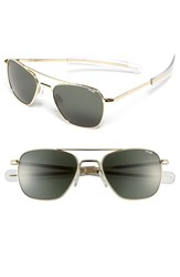 Men's Randolph Engineering Bayonet 52Mm Sunglasses Gold Agx