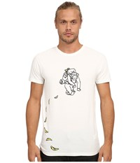 French Connection Banana Trail Cuba White Men's Clothing