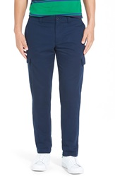 Lacoste Slim Fit Twill Cargo Pants Navy Blue