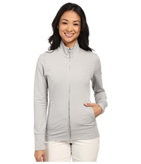 Puma Pwrwarm Golf Jacket Light Grey Heather Women's Coat Gray