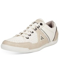Guess Javonte Low Top Sneakers Men's Shoes White Group