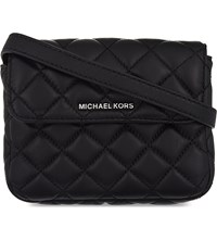 Michael Michael Kors Sloan Small Quilted Leather Belt Bag Black