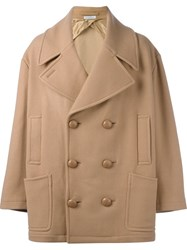 J.W.Anderson Oversized Peacoat Brown