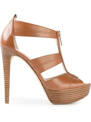 Michael Michael Kors High Heel Sandals Brown