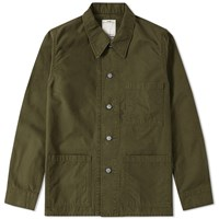 Visvim Travail Coverall Jacket Green