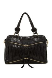 Treesje Asher Zip Satchel Black