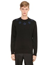 Givenchy Star Patches Wool Blend Sweater