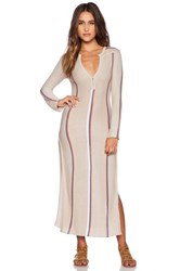 Goddis Andi Maxi Dress Beige