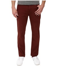 7 For All Mankind Slimmy Slim Straight In Chianti Chianti Men's Jeans Red