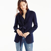 J.Crew Collection Blazer In Double Faced Italian Cashmere