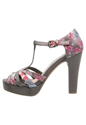 Refresh Platform Sandals Gris Grey