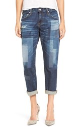 Ag Jeans Women's 'The Ex Boyfriend' Distressed Patchwork Slim