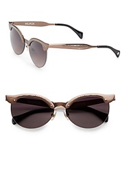 Wildfox Couture Crybaby 59Mm Cat's Eye Sunglasses Bronze
