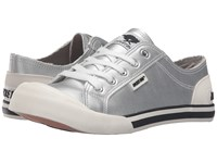 Rocket Dog Jazzin Silver Cadet Women's Lace Up Casual Shoes