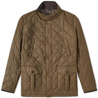 Barbour Tiller Quilt Jacket Green