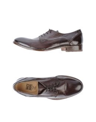 Moma Lace Up Shoes Tan