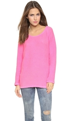 Stateside Terry Pullover Pink