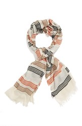 Echo Women's 'Summer Stripe' Woven Wrap Multi