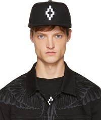 Marcelo Burlon Black Starter Edition Cruz Cap