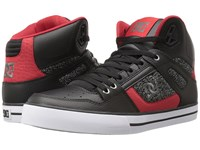 Dc Spartan High Wc Black Black Red Men's Shoes