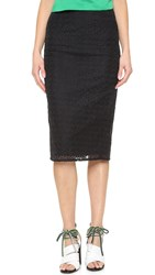 Edit Slim Line Skirt Black