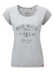 Tog 24 Metro Womens T Shirt Grey Marl