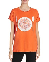 Wildfox Couture Disco Snack Tee Electric Red