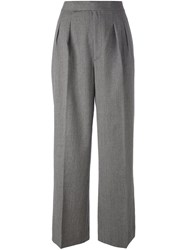 Polo Ralph Lauren High Waisted Trousers Grey