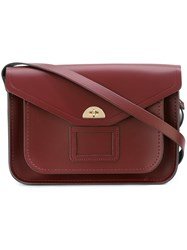 The Cambridge Satchel Company 'Twist Lock' Red