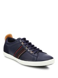 Paul Smith Cosmo Galaxy Leather Low Top Sneakers Blue