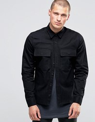 Religion Military Shirt Black