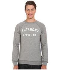 Altamont Non Game Crew Fleece Grey Heather Men's Fleece Gray