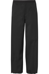 Theory Twill Tapered Pants Black