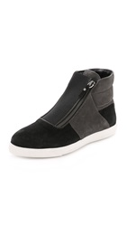 Alice Olivia Roland High Top Charcoal Black