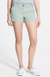 Junior Women's The Hanger Woven Shorts Mint