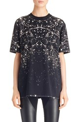 Women's Givenchy Constellation Print Stretch Jersey Tee