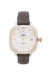 Shinola The Gomelsky 36Mm In Gray Metallics