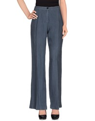 Diana Gallesi Trousers Casual Trousers Women Slate Blue