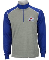 Antigua Men's Colorado Avalanche Breakdown Quarter Zip Pullover