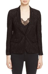 Women's The Kooples Floral Lace Jacket