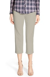 Petite Women's Jag Jeans 'Echo' Pull On 5 Pocket Crop Pants Stone