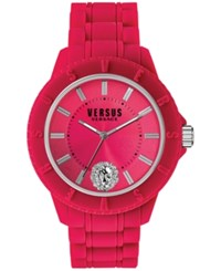 Versus By Versace Women's Tokyo Red Silicone Strap Watch 42Mm Soy040015
