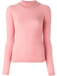 Roksanda Ilincic Roksanda High Neck Sweater Pink And Purple